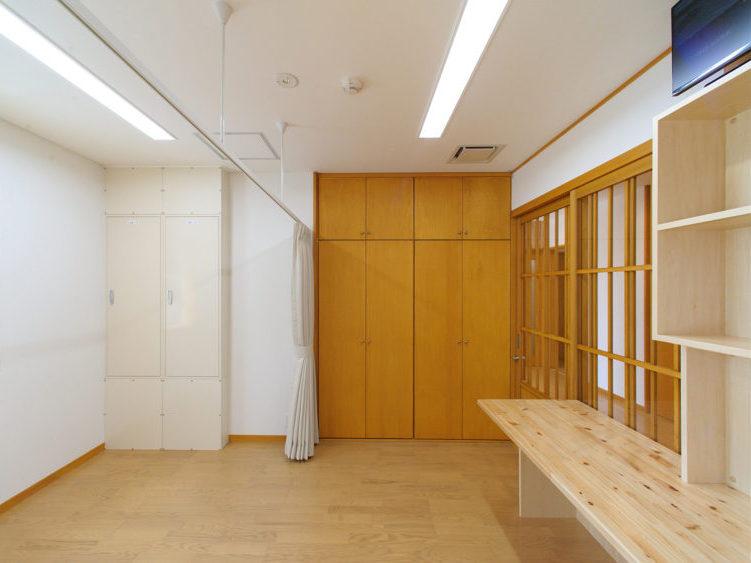虎伏学園分園型グループケア新築工事 スタッフルーム兼宿直室
