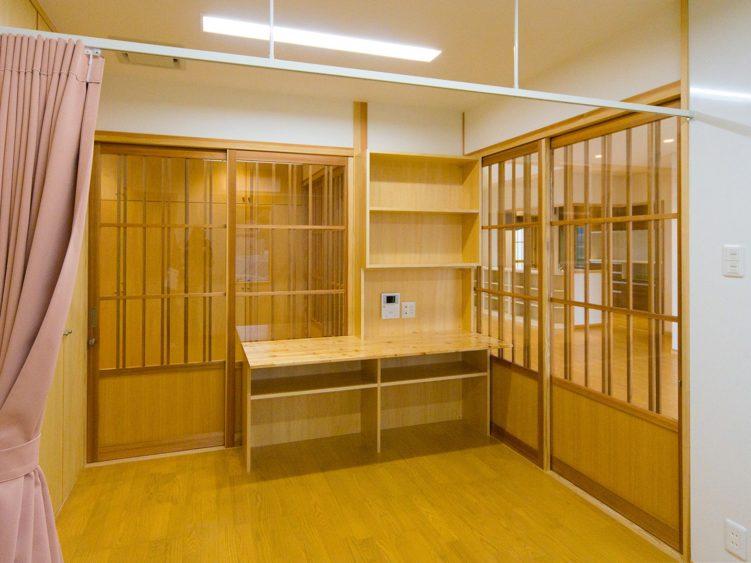 虎伏学園4-スタッフルーム兼宿直室