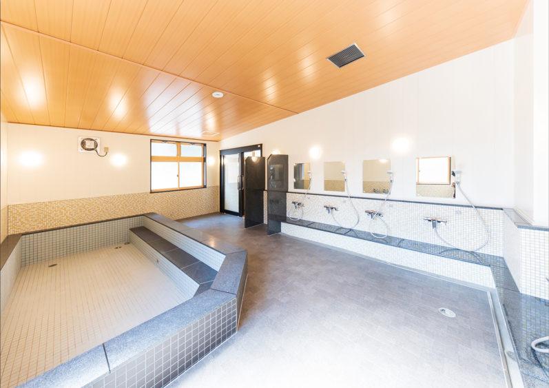 高野山高等学校 浴室